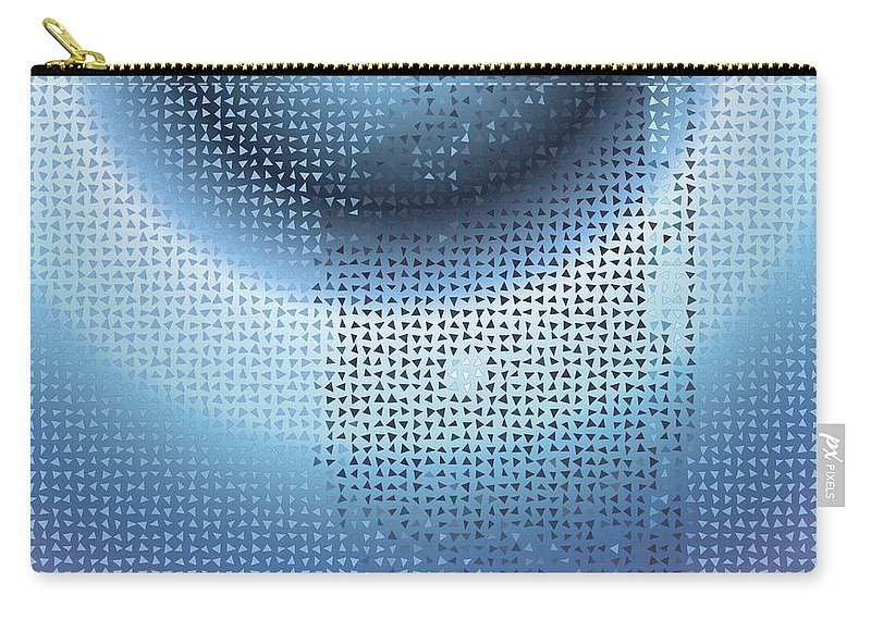 Pattern 80 Carry-all Pouch featuring the digital art Pattern 80 by Marko Sabotin