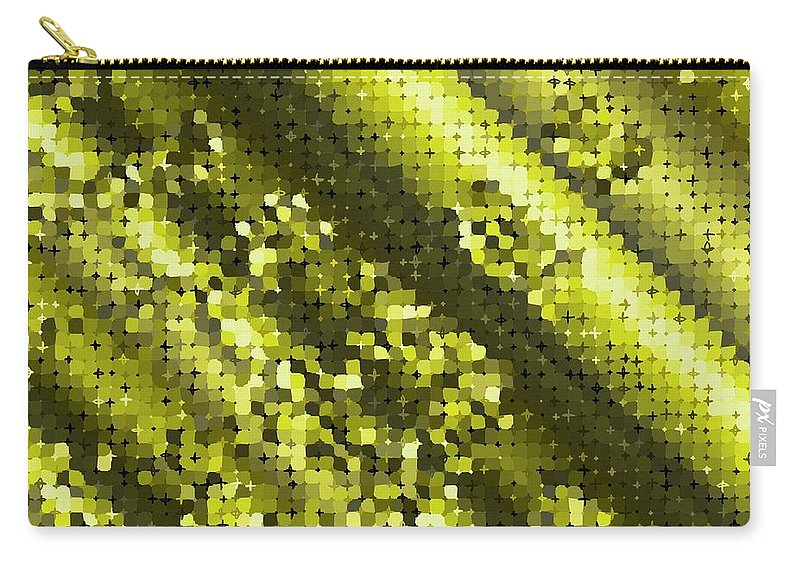 Pattern 88 Carry-all Pouch featuring the digital art Pattern 88 by Marko Sabotin