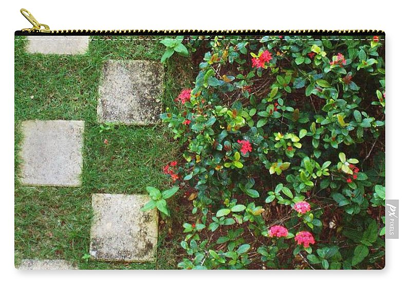 Pattern Carry-all Pouch featuring the photograph Pattern Work by Deborah Crew-Johnson