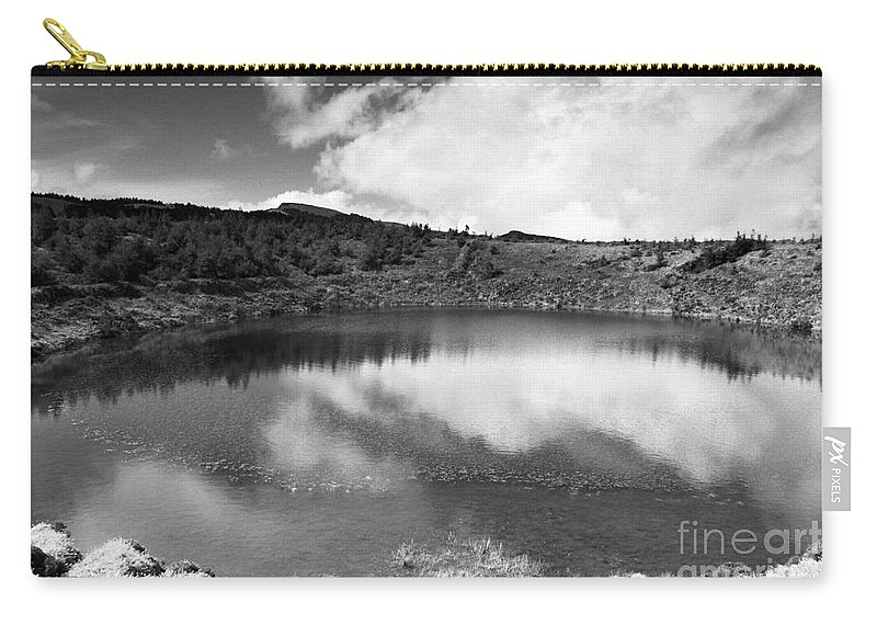 Lake Carry-all Pouch featuring the photograph Pau-pique Lake by Gaspar Avila