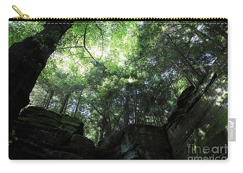 Nature Carry-all Pouch featuring the photograph Peace All Around by Amanda Barcon