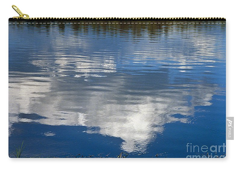 Landscape Carry-all Pouch featuring the photograph Peace by Kathy McClure