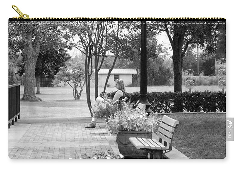 Peace Carry-all Pouch featuring the photograph Peace by Mechala Matthews