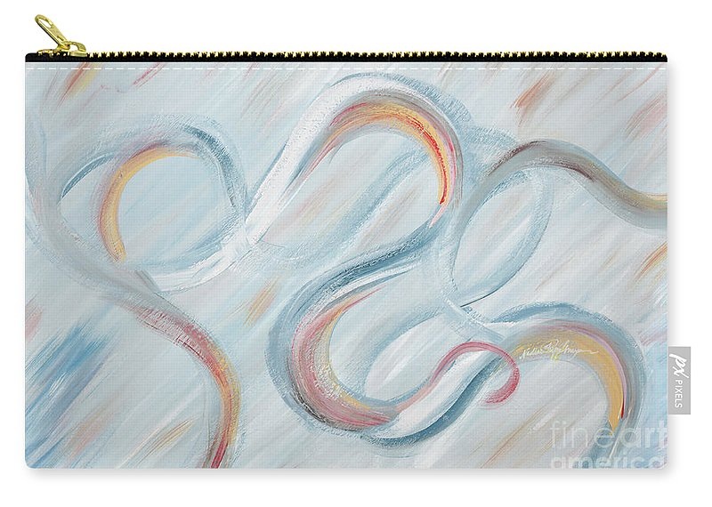 Peace Carry-all Pouch featuring the painting Peace by Nadine Rippelmeyer