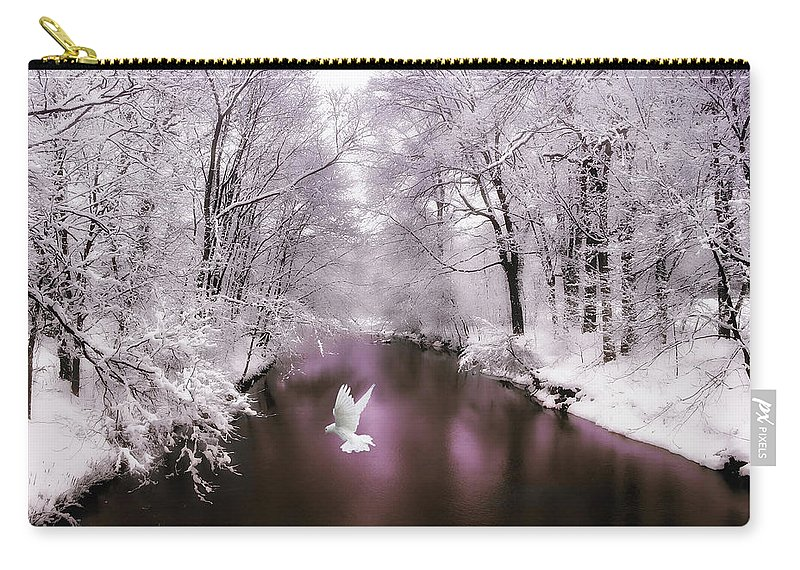 Nature Carry-all Pouch featuring the photograph Peace On Earth  by Jessica Jenney