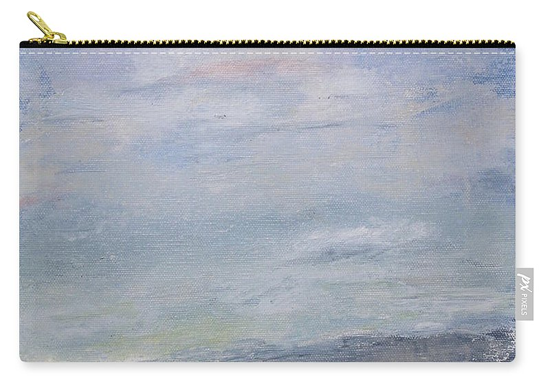Sky Carry-all Pouch featuring the painting Peace by Patricia Caldwell
