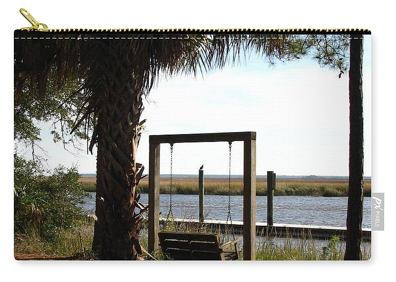 Ogeechee River Carry-all Pouch featuring the photograph Peaceful Afternoon by J M Farris Photography