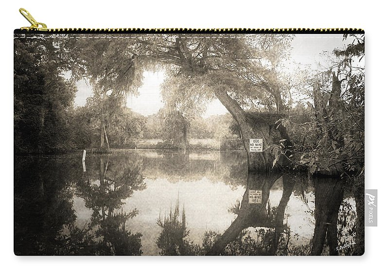 Water Carry-all Pouch featuring the photograph Peaceful Evening by Scott Pellegrin