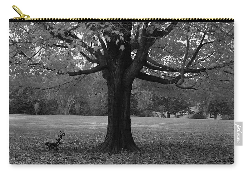 Maymont Carry-all Pouch featuring the photograph Peaceful Park by Tina Meador
