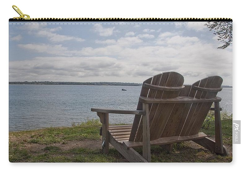 Glen Park Carry-all Pouch featuring the photograph Peaceful Sunday Morning by Steven Natanson