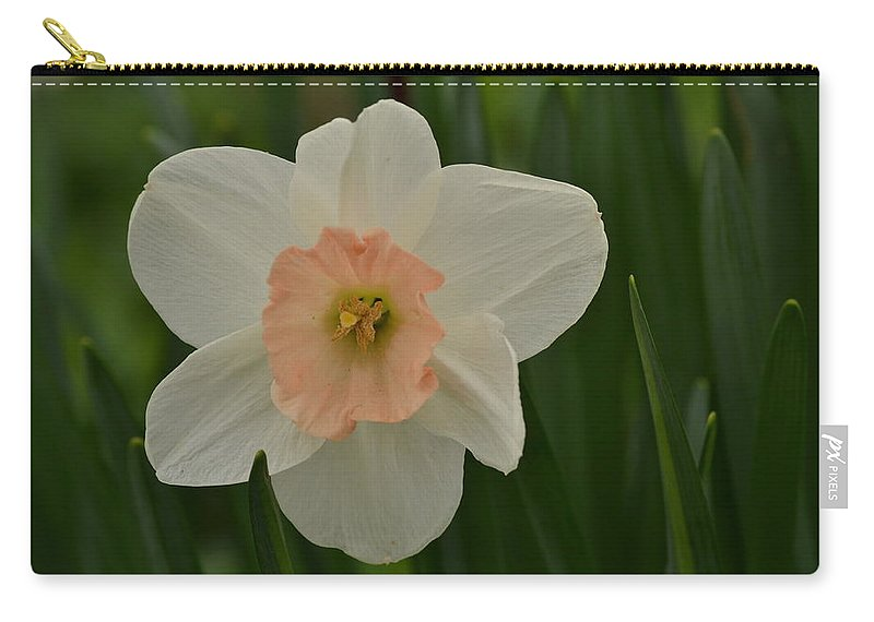J.d. Grimes Carry-all Pouch featuring the photograph Peaches And Cream by JD Grimes