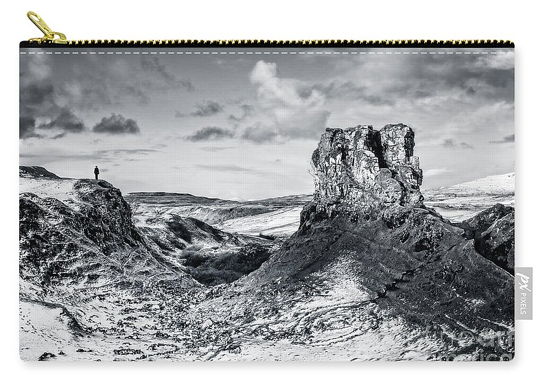 Kremsdorf Carry-all Pouch featuring the photograph Peak Of Imagination by Evelina Kremsdorf