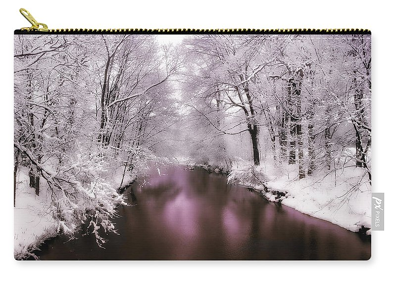 Landscape Carry-all Pouch featuring the photograph Pearlescent by Jessica Jenney