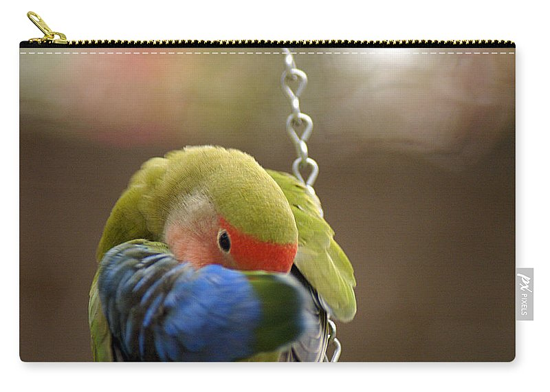 Clay Carry-all Pouch featuring the photograph Peek A Boo by Clayton Bruster