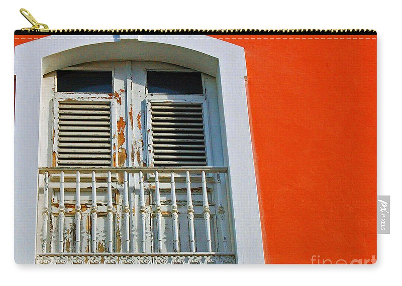 Shutters Carry-all Pouch featuring the photograph Peel An Orange by Debbi Granruth