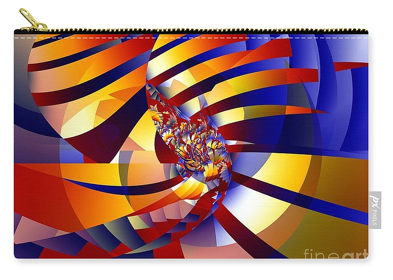 Peels Carry-all Pouch featuring the digital art Peels by Ron Bissett