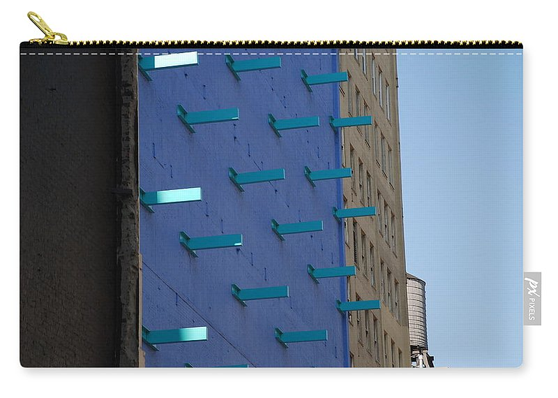 Architecture Carry-all Pouch featuring the photograph Peg Board by Rob Hans