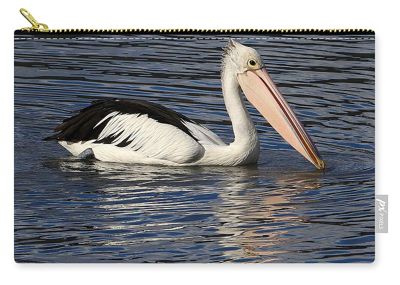 Australia Carry-all Pouch featuring the photograph Pelican by Renee Miller
