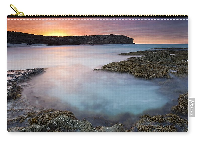 Dawn Carry-all Pouch featuring the photograph Pennington Dawn by Mike Dawson