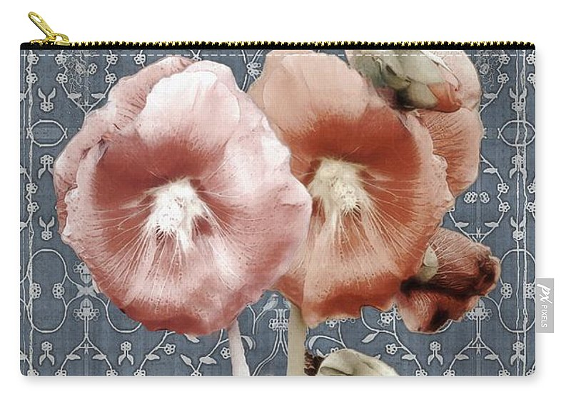 Cloth Carry-all Pouch featuring the painting Penny Postcard Bombay by RC DeWinter