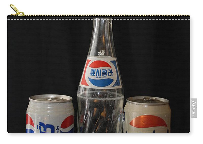 Korean Carry-all Pouch featuring the photograph Pepsi From Around The World by Rob Hans