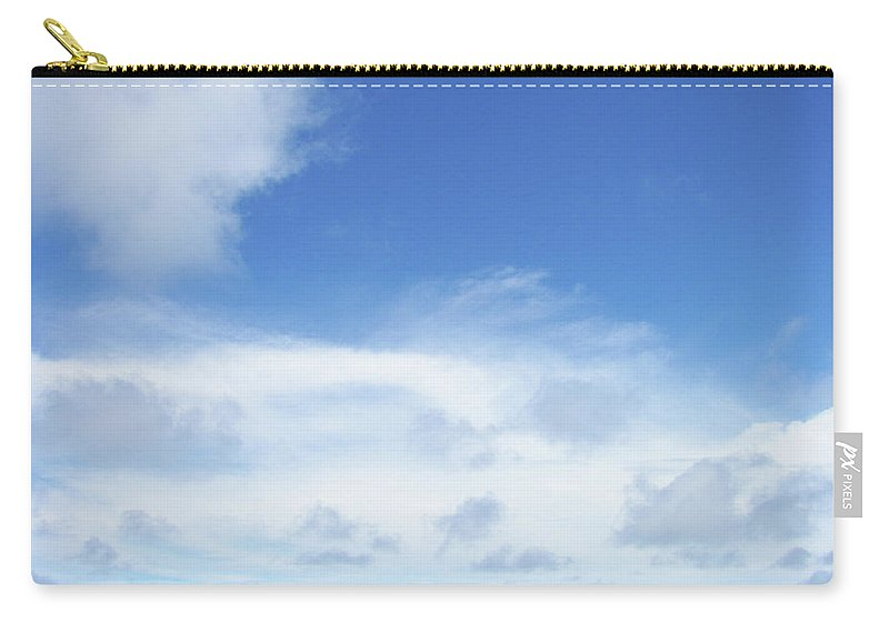 Blue Carry-all Pouch featuring the photograph Perfect Day by JAMART Photography