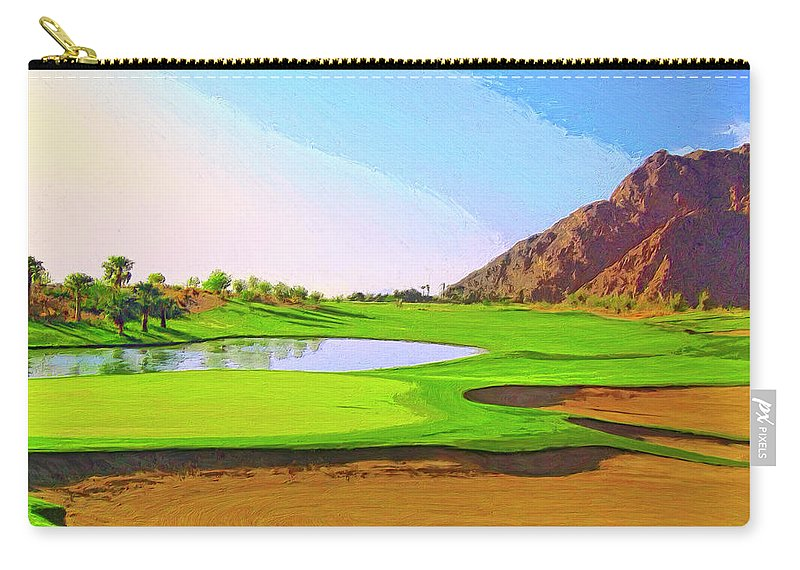 Perfect Morning Carry-all Pouch featuring the painting Perfect Morning by Dominic Piperata