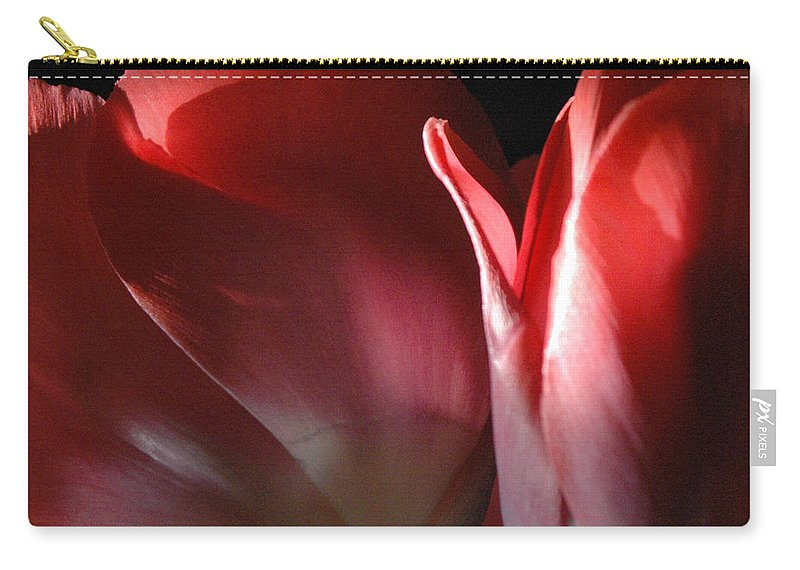 Tulips Carry-all Pouch featuring the photograph Perfect Pair by Trish Hale
