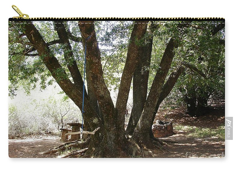 Picnic Carry-all Pouch featuring the photograph Perfect Picnic Tree by Carol Groenen