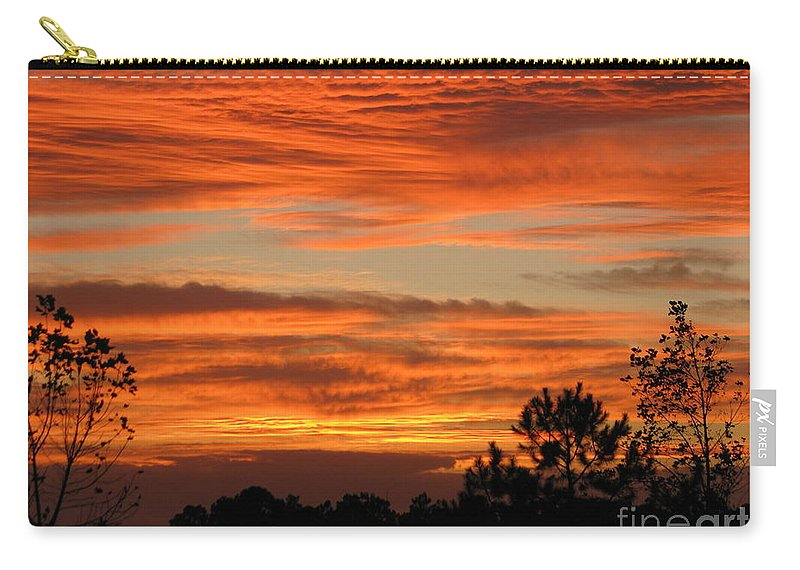 Art For The Wall...patzer Photography Carry-all Pouch featuring the photograph Perfection by Greg Patzer