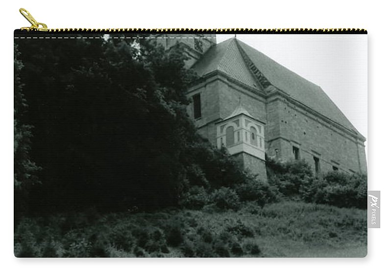 Church Carry-all Pouch featuring the photograph Perseverance by Michelle Calkins