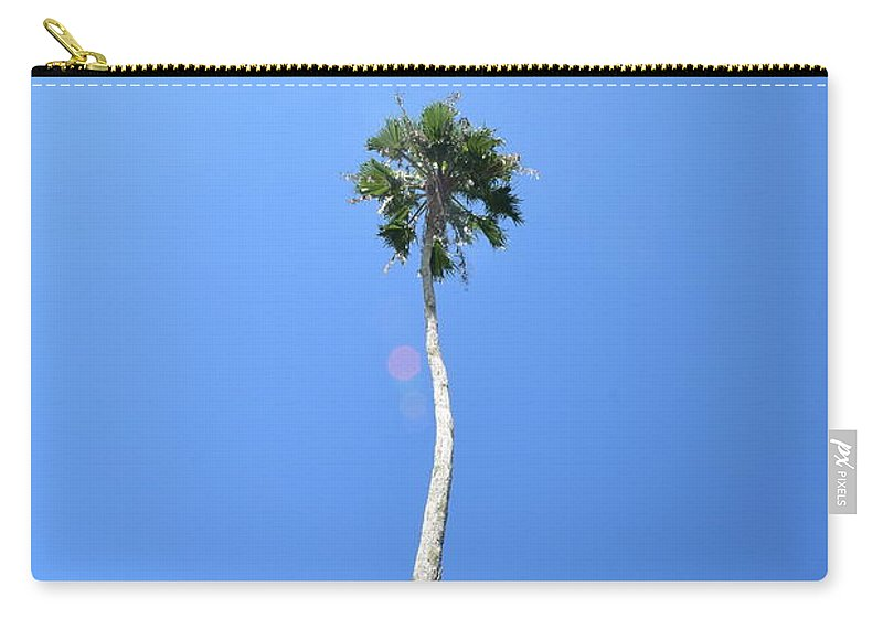 Florida Carry-all Pouch featuring the photograph Perspective by Anette Gray
