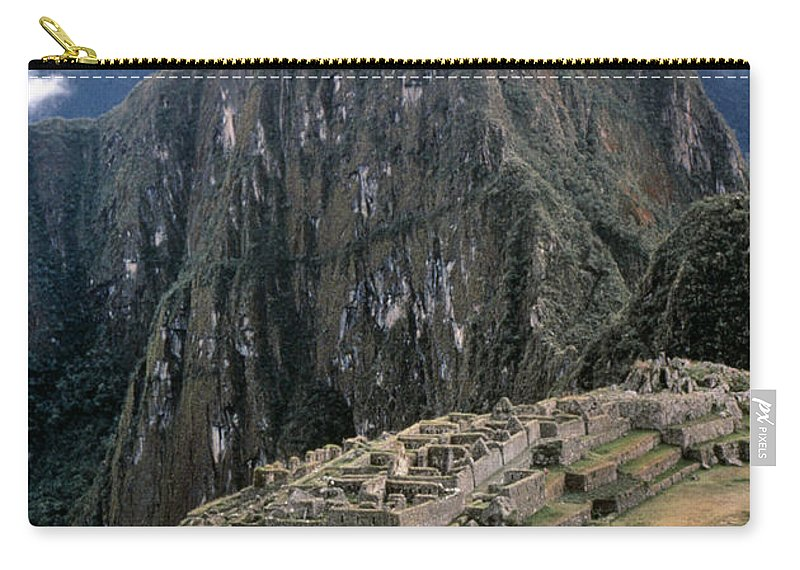 15th Century Carry-all Pouch featuring the photograph Peru: Machu Picchu by Granger