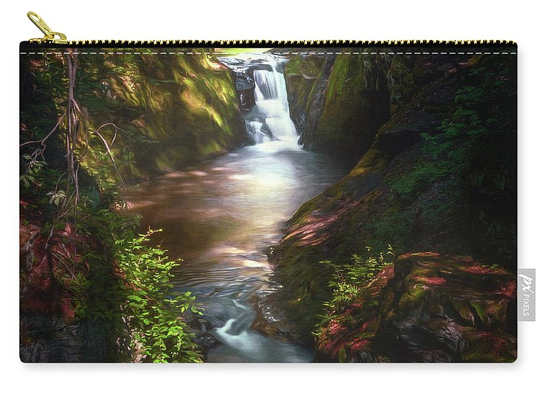Landscape Carry-all Pouch featuring the photograph Pewitts Nest by Scott Norris