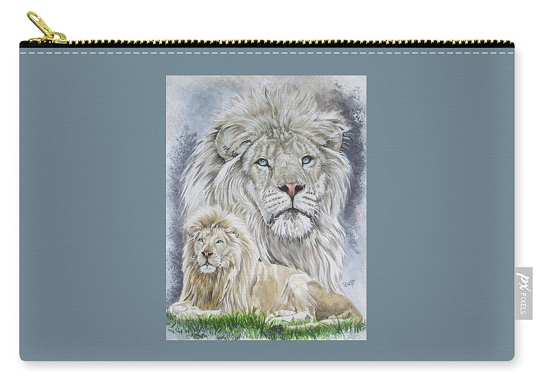 Art Carry-all Pouch featuring the mixed media Phantasy by Barbara Keith