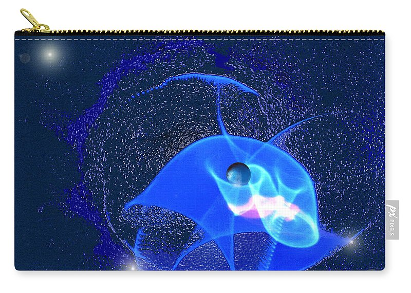Space Carry-all Pouch featuring the digital art Phenomenon by Steve Karol