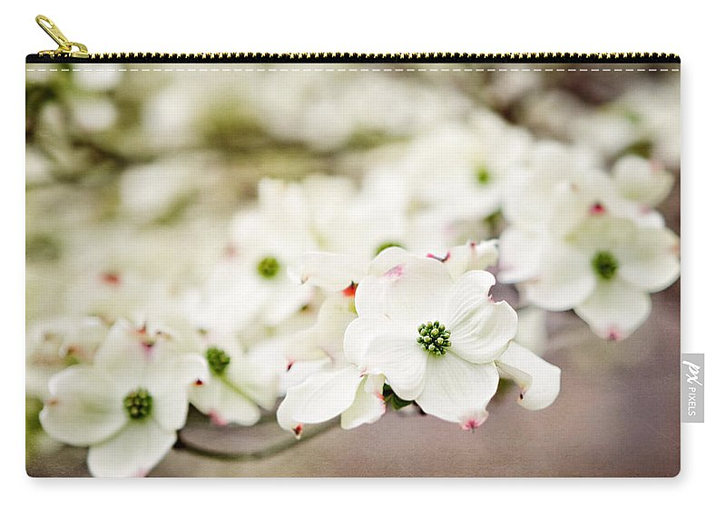 Dogwood Carry-all Pouch featuring the photograph Philadelphia Dogwood by Lisa Russo