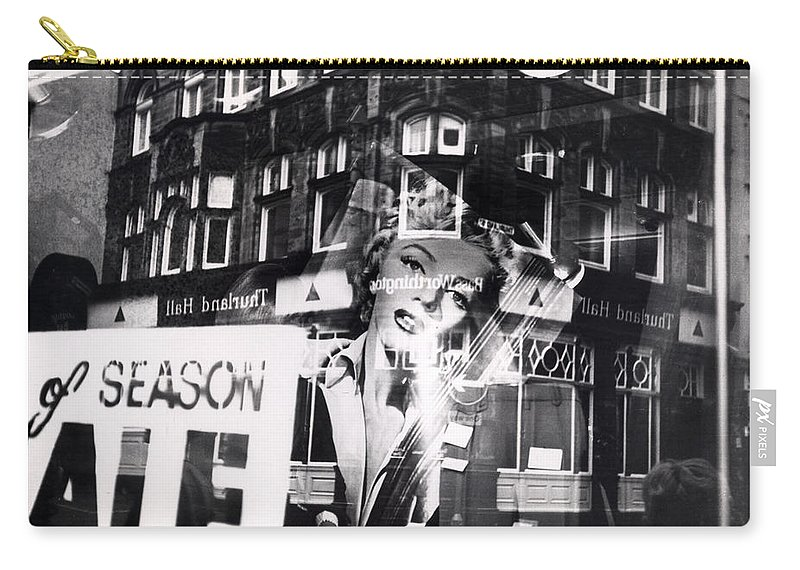 Marilyn Carry-all Pouch featuring the photograph Photograph Of Marilyn by Charles Stuart