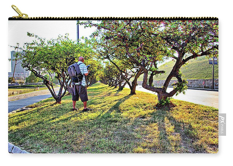 2d Carry-all Pouch featuring the photograph Photographer by Brian Wallace
