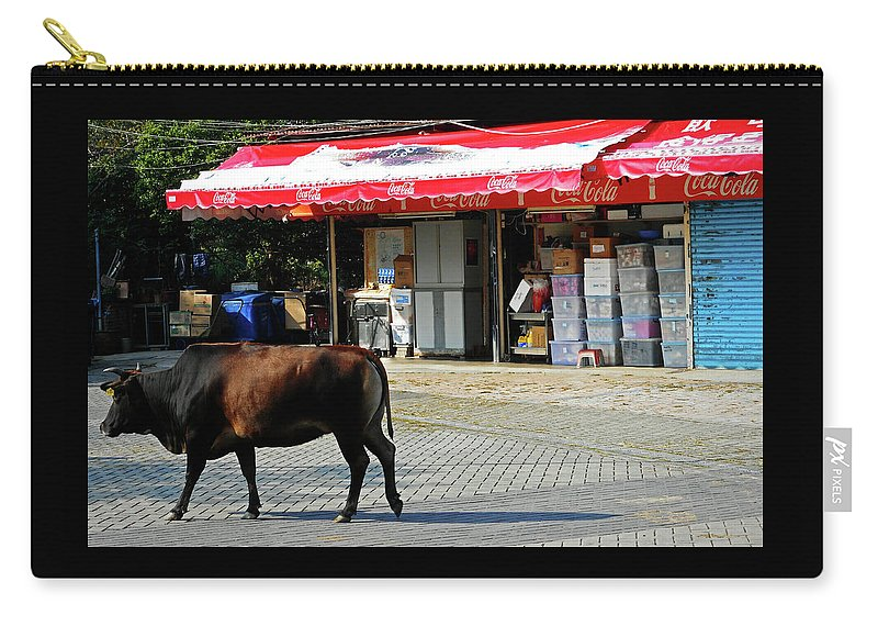 Phu My Carry-all Pouch featuring the photograph Phu My 2 by Ron Kandt