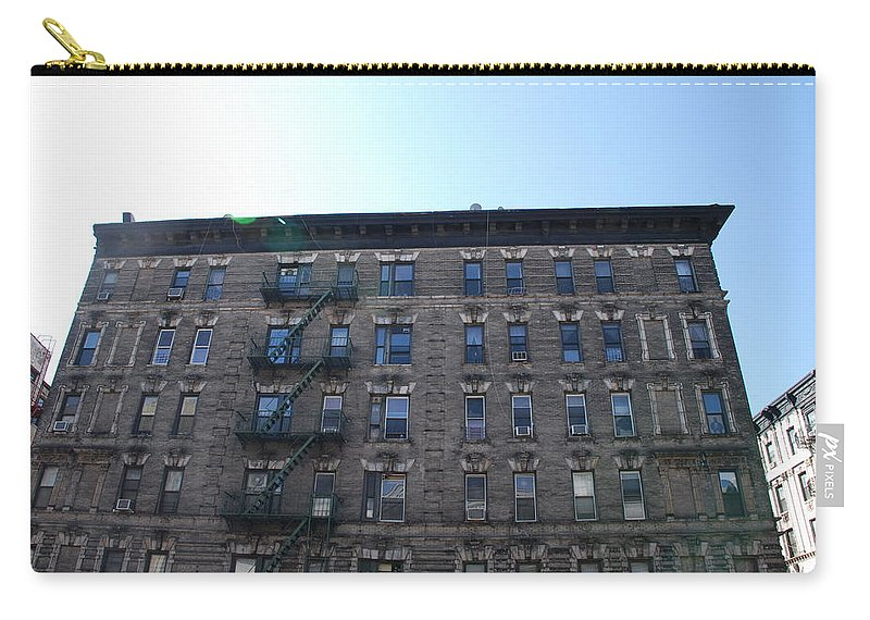 Architecture Carry-all Pouch featuring the photograph Physical Graffitti by Rob Hans
