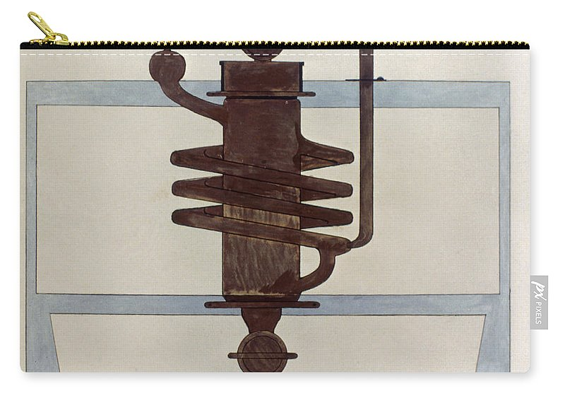 1915 Carry-all Pouch featuring the photograph Picabia: Paroxyme, 1915 by Granger