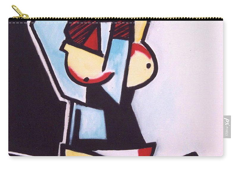 Picasso Carry-all Pouch featuring the painting Picasso by Thomas Valentine