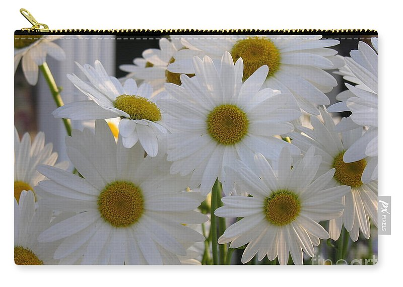 Dasiy Carry-all Pouch featuring the photograph Pick Me by Diane Greco-Lesser