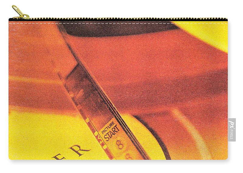 Picture Start. Carry-all Pouch featuring the photograph Picture Start. by Robert Ponzoni