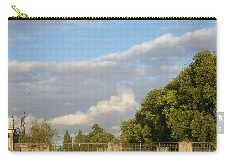 Picturesque Carry-all Pouch featuring the photograph Picturesque by Mary Mikawoz