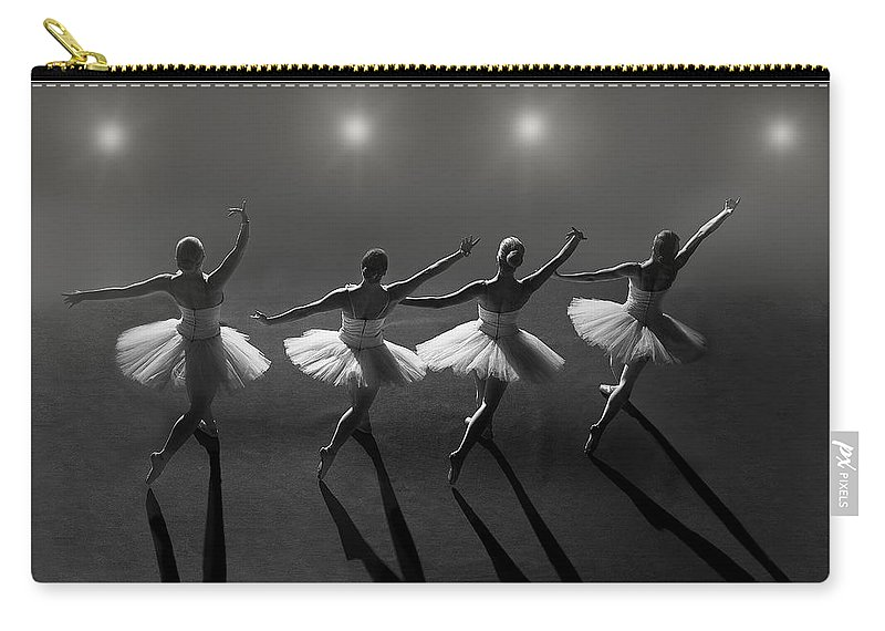 Ballet Carry-all Pouch featuring the photograph Ballet by Jose Tabares