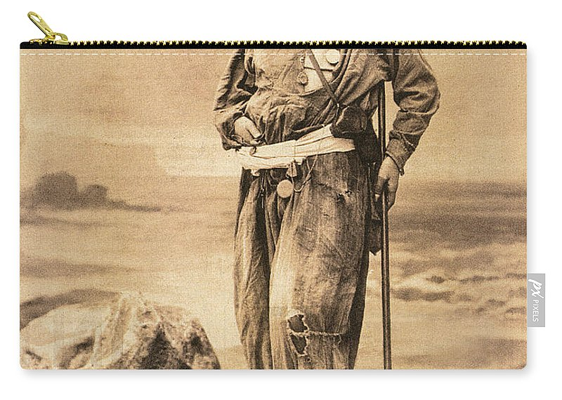 19th Century Carry-all Pouch featuring the painting Pierre Savorgnan De Brazza by Granger