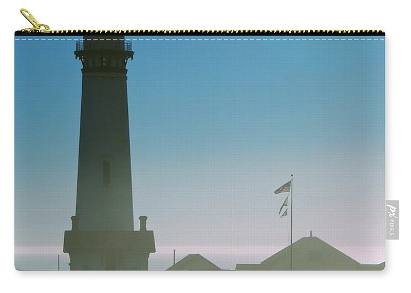 Lighthouse Carry-all Pouch featuring the photograph Pigeon Point Lighthouse by Eric Tressler