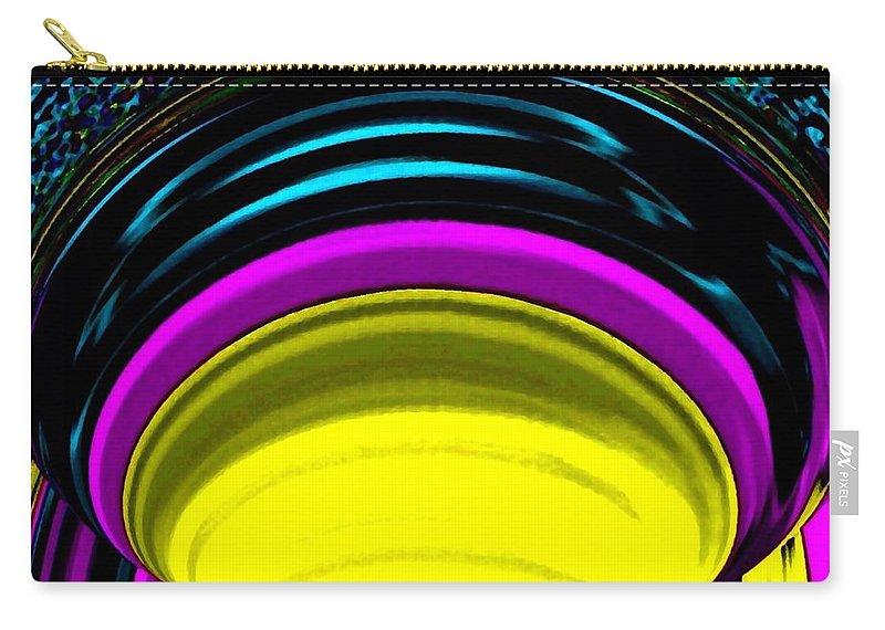 Light Carry-all Pouch featuring the digital art Pillar Of Light by Will Borden